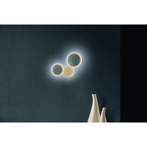Φωτιστικό απλίκα τοίχου ondaluce Ap.Pois/Oro